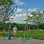 Technik 10 Mast für Wetterstation
