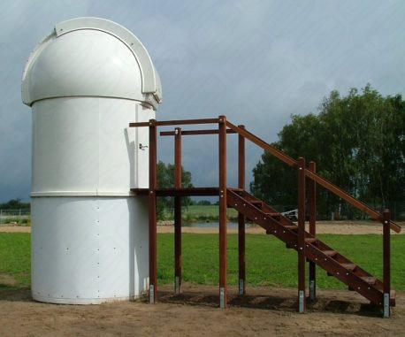 Baader Planetarium Kuppel nach dem Umbau