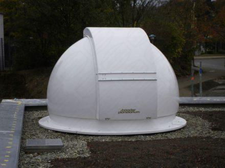 Sternwartenkuppel für Jugendhaus Aichwald
