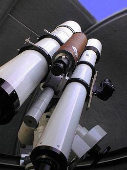 Fernrohre im Observatorium Baader Dome