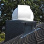 Baader Sternwartenkuppel Hausdach