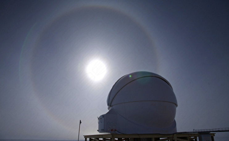 4,5 Meter Kuppel in der Antarktis - Dome Concordia