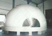 Klappschalen Sternwarte konstruiert von Baader Planetarium