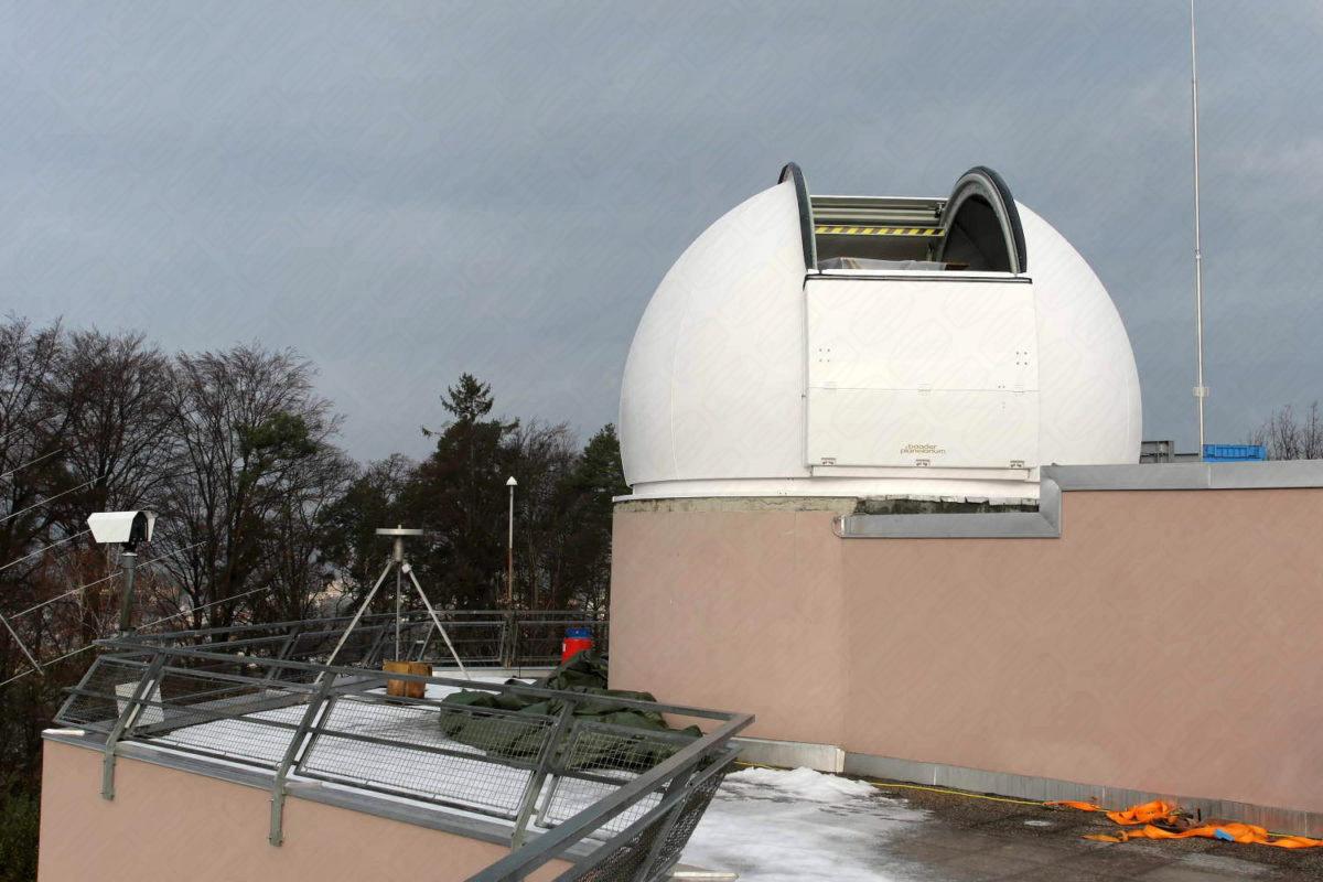 Observatorium in Österreich Institut für Weltarumforschung Observatorium Lustbühel