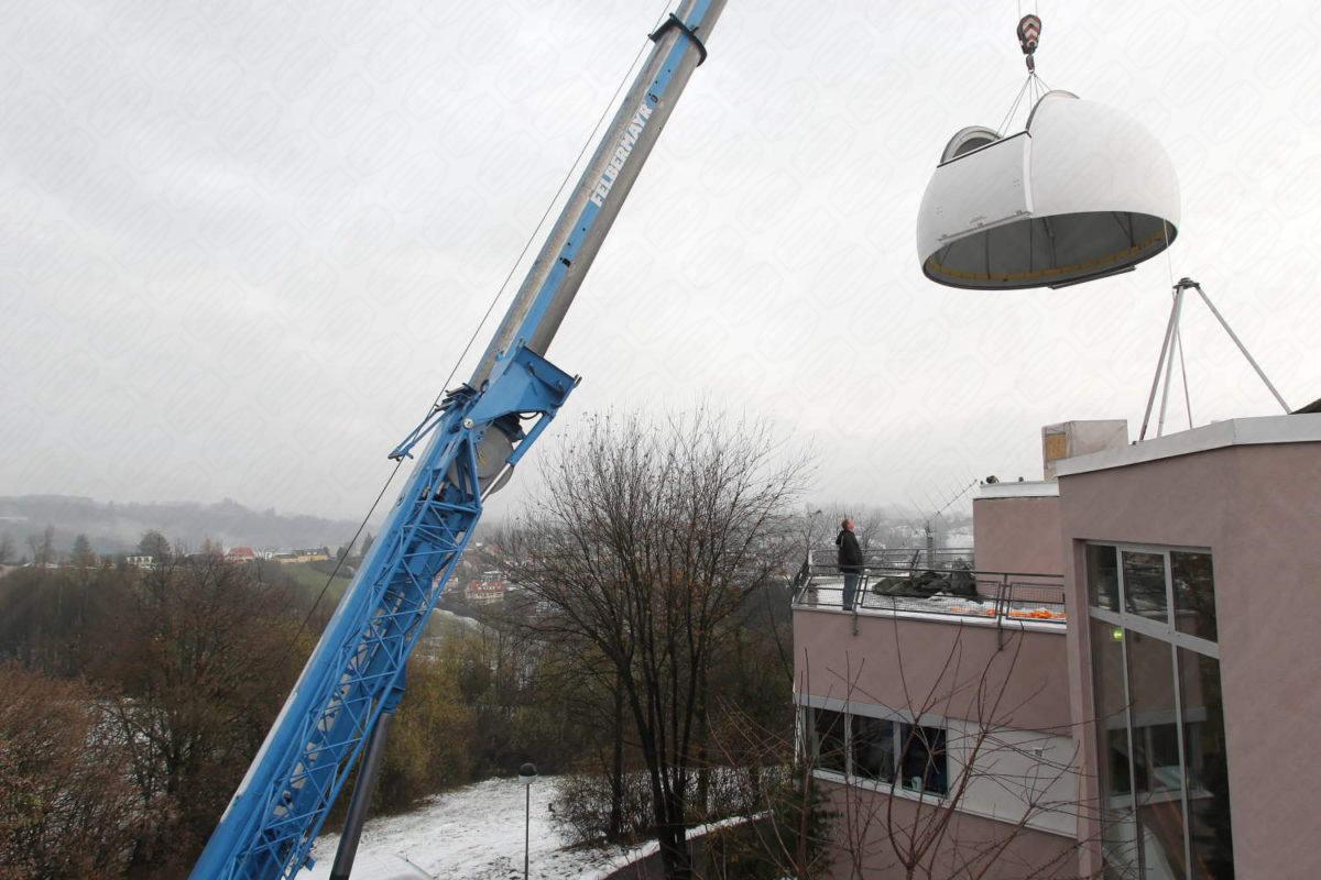 Baader Planetarium Dome in Österreich Lustbühel für Akademie und Institut