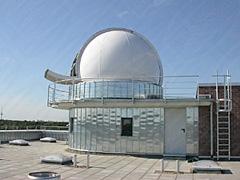 Kurz nach der Fertigstellung der Sternwarte in Bremen