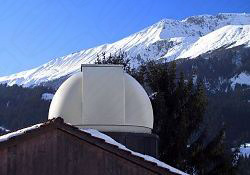 Baader Sternwartenkuppel in der Schweiz - Lenk