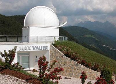 Observatorium in Südtirol mit 6 Meter Dome