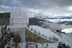 4.2 und 6 Meter Kuppel bei Max Valier - Südtirol