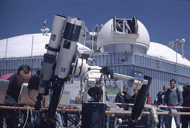 Baader Sternwarte Beobachtung von der Zugspitze aus