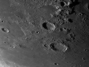 aristoteles eudoxus Mondlandschaft Fotografie