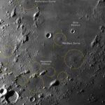 Mondbilder am Tage