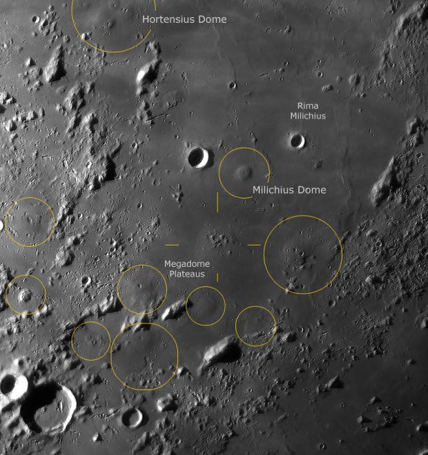 domeland Mondlandschaft Aufnahme