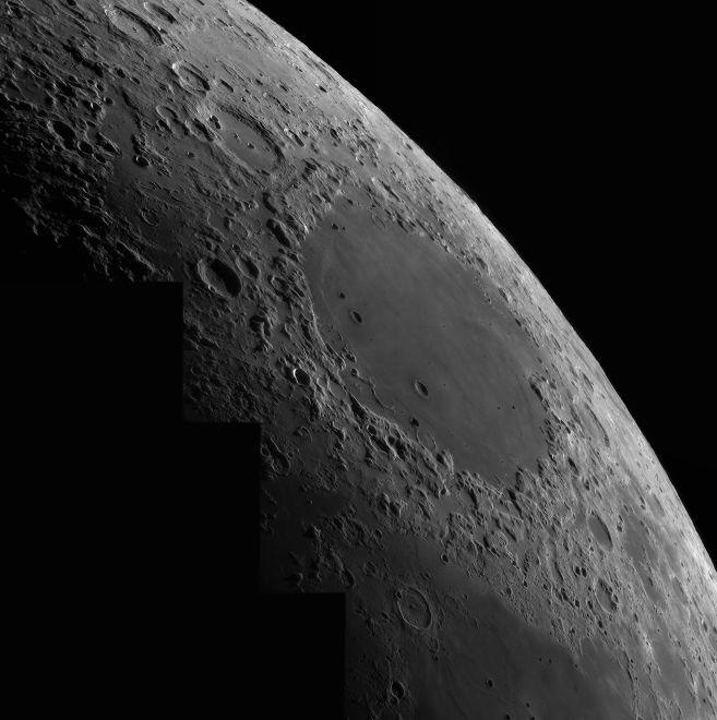 grosses crisium mosaik Mondbilder Astrofotografie