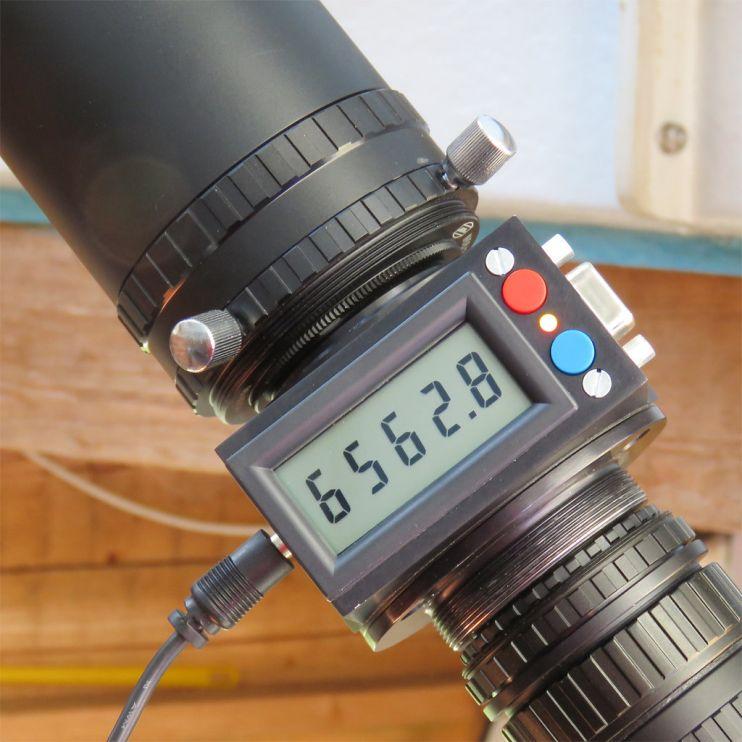 H Alpha Filter zwischen Baader Planetarium Zubehör