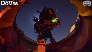 Instrumentarium der Sternwarten Kuppel bei Dubai