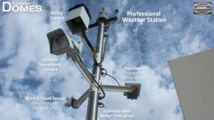 Professionelle Wetterstation für Sternwarte Sharjah Astro Center
