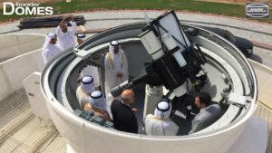 Sharjah Astro Center Sternwarten Kuppel mit Instrumentarium