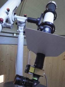 Solar Spectrum an APQ mit Baader Planetarium Zubehör