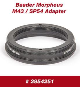 Morpheus® M43/SP54 Adapter