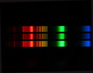 Spektrum einer Energiesparlampe