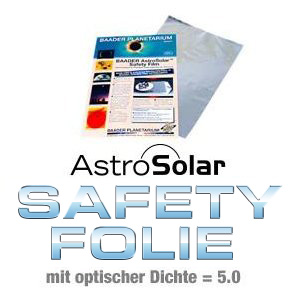 AstroSolar Safety Sonnenfilterfolie OD 5.0