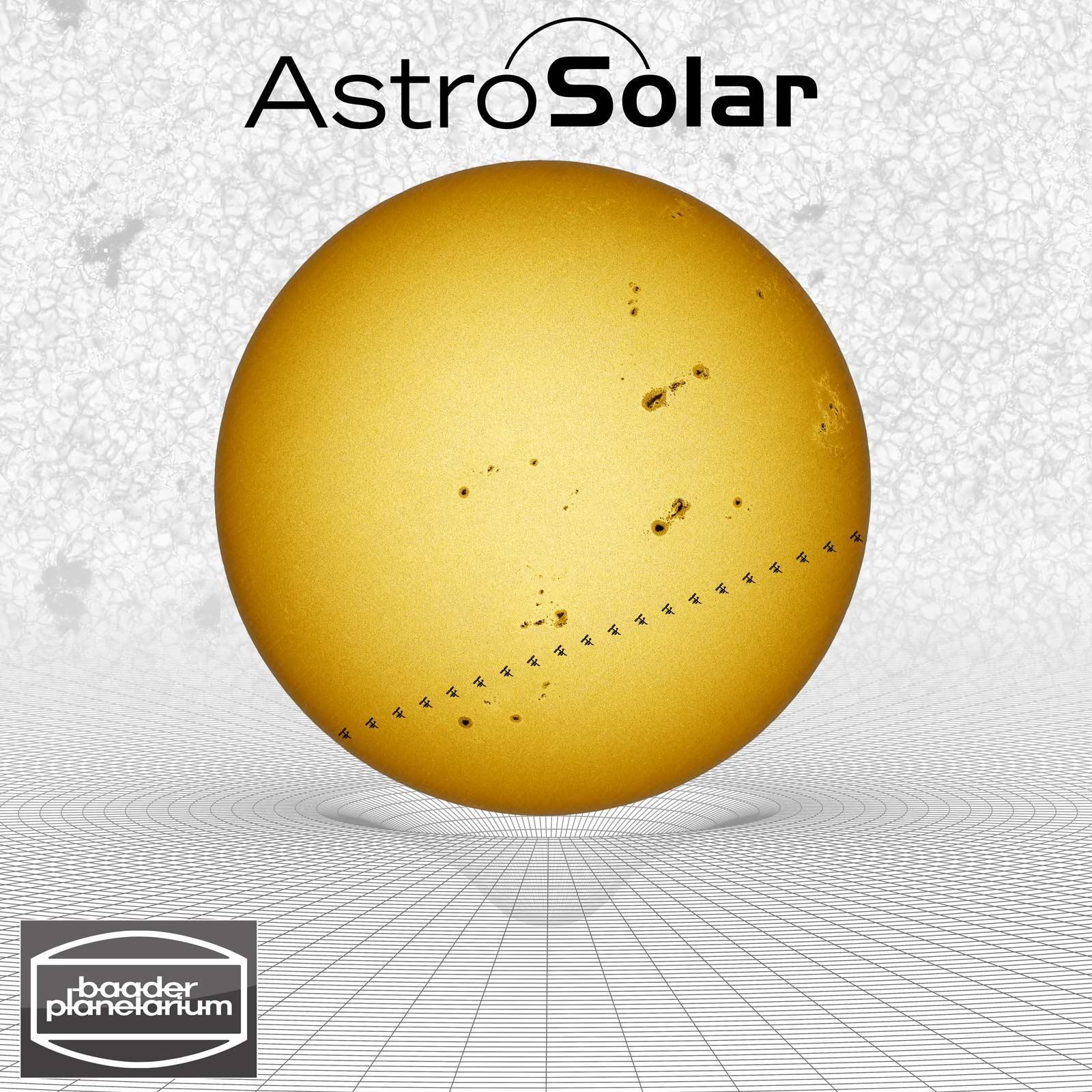 Astrosolar foto folie od 3 8 sonnenbeobachtung - Sichtschutzfolie fenster einseitig durchsichtig ...