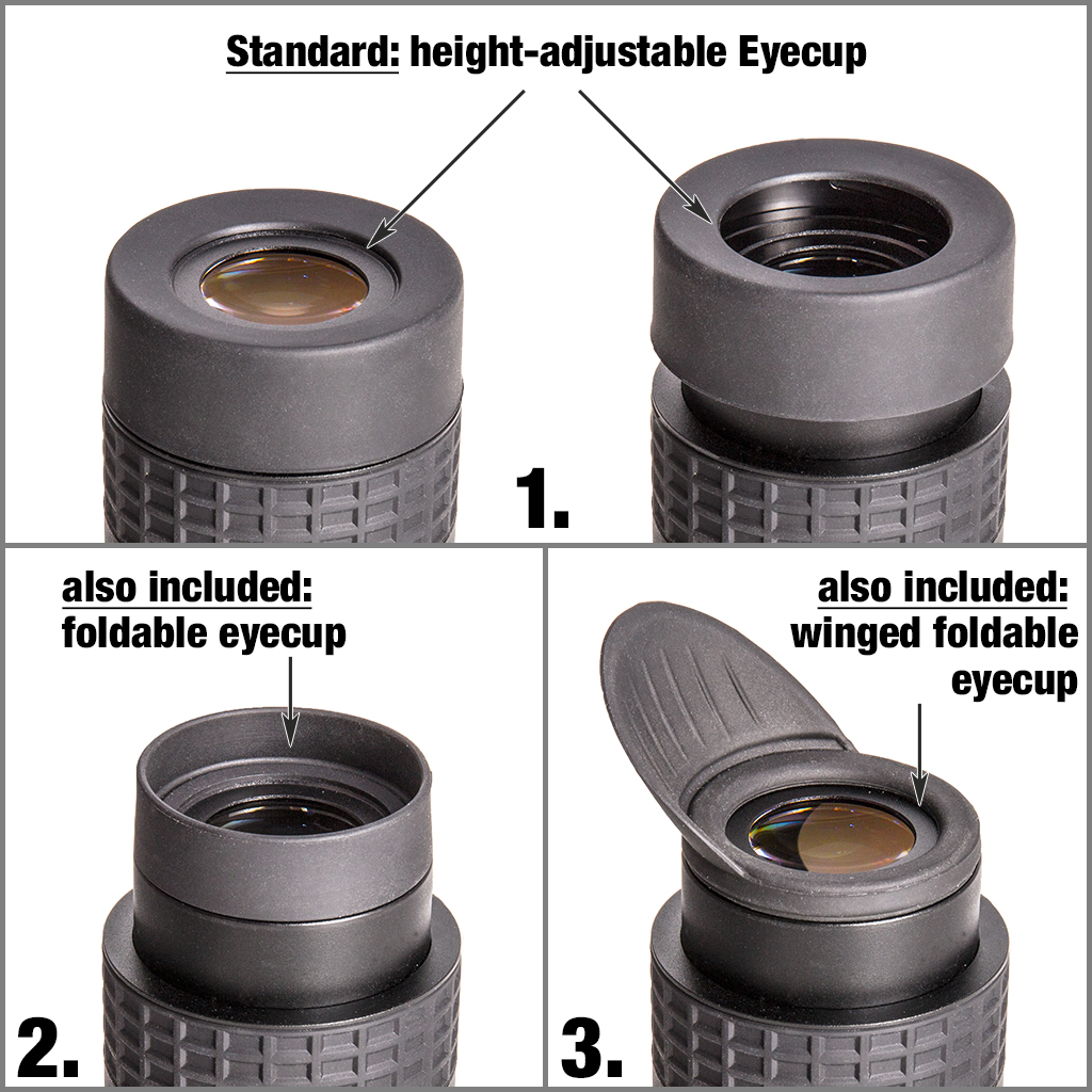 Hyperion Zoom Augenauflagen / Augenmuscheln
