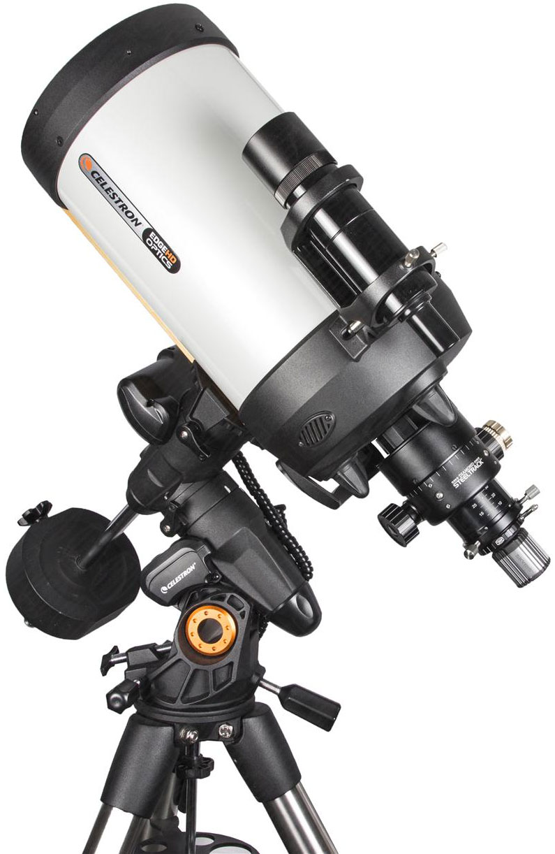 Baader SC Diamond Steeltrack an Celestron Montierung