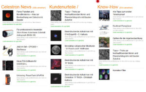 Celestron Blog-Posts