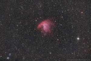Der Pacman-Nebel NGC281, 23x180 Sekunden