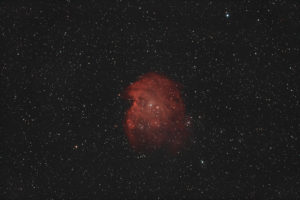 NGC 2174 - 132 Einzelbilder, je 60 Sekunden belichtet