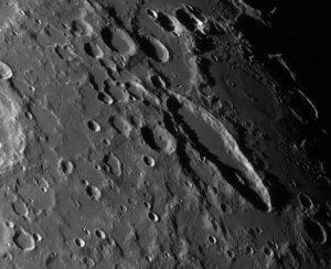 schiller Mondkrater Astro Fotografie