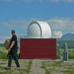 2,6m private classic dome in Switzerland with GM2000 QCI