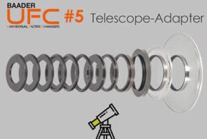 Baader Universal Filter Changer (UFC): The UFC telescope-side adaptors (Part 5)