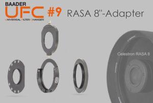 "Baader's RASA 8"" UFC telescope-side adaptor (Part 9)"