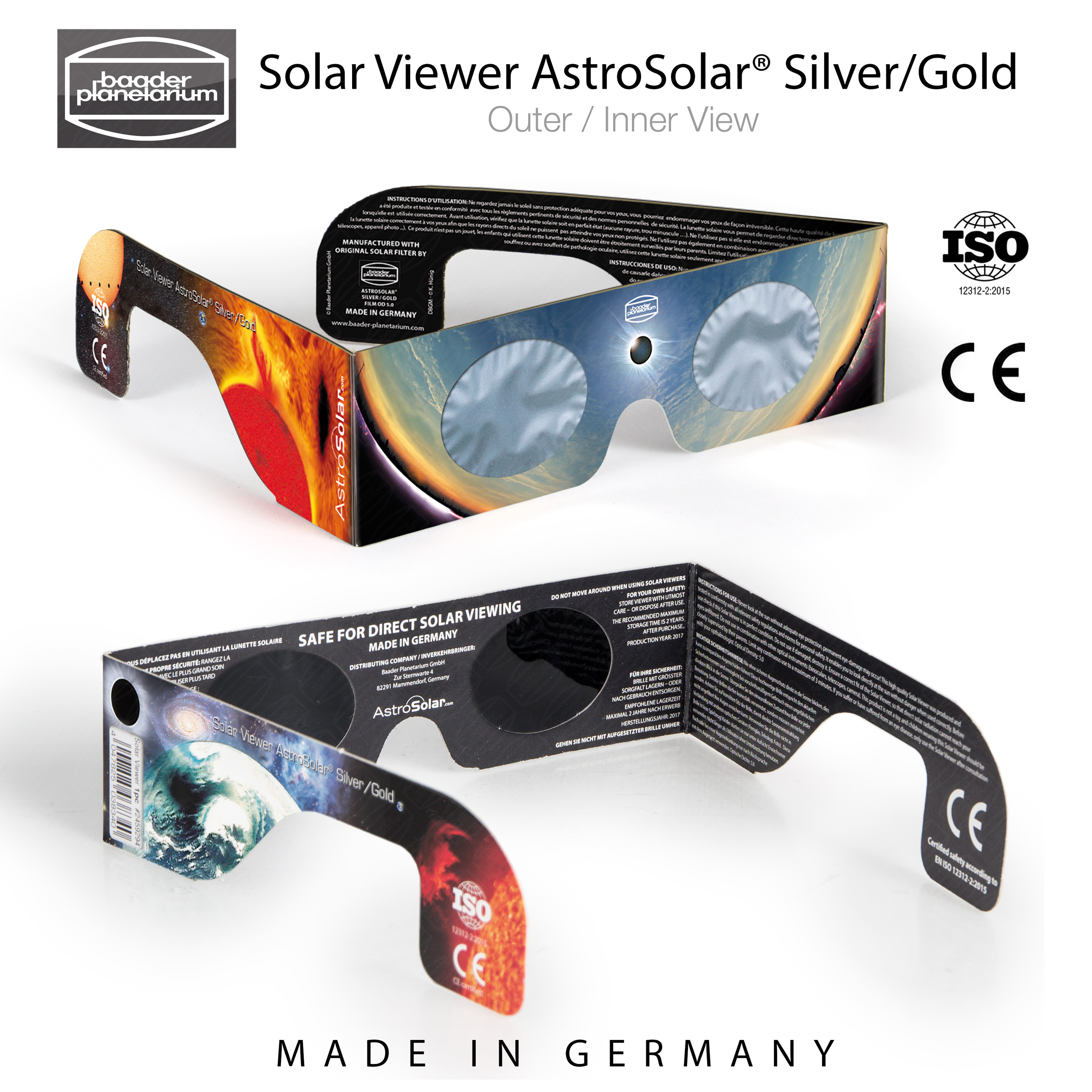 Concerning fear about counterfeit Baader AstroSolar Viewers and Film ...