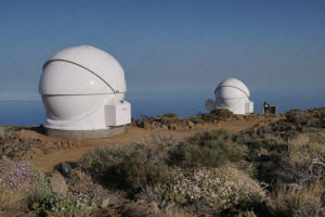 3.5m and 4.5m AllSky Domes for Open University on Tenerife