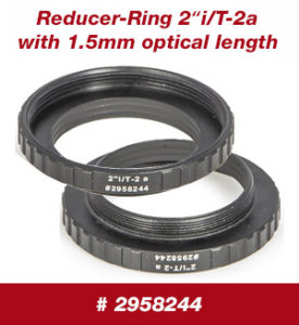 "Baader Reducer-Ring 2""i / T-2a, with 1.5 mm optical length"