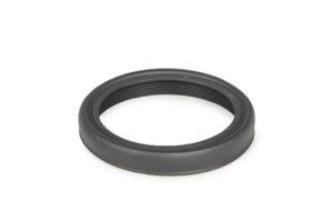 Foldable Rubber Eyecup w. M43 metal thread, folded #2454655