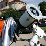 """Triband 8"""" testing at the ROS astronomical meeting"""