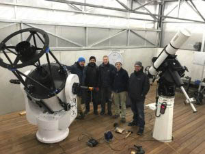 PlaneWave CDK 700 and 10Micron GM 4000 HPS with Baader APO 193 for Schaffhausen Observatory