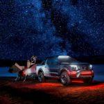 Nissan Navara 'Dark Sky' with Planewave telescope