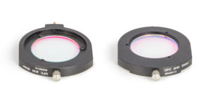 UFC D50.4mm Filter slider (#2459113) with mounted Filter - showing both sides