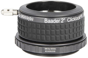 "Baader 2"" ClickLock® clamp M63a x 1 (for Feather Touch 2.5"")"