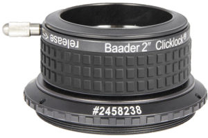 "Baader 2"" ClickLock clamp M75a x 1 (for Feathertouch 3.0"")"