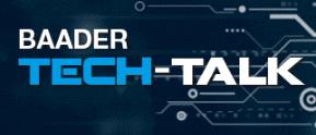Baader Tech-Talk auf der AME 2018