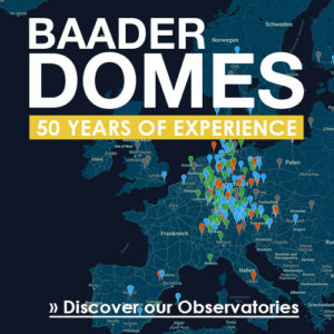 Baader Observatories Map - Discover our Domes