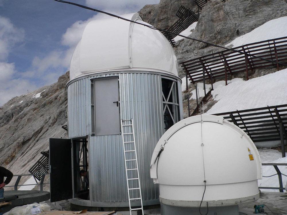 Zugspitze: Umwelt Forschungsstation Schneefernerhaus