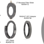 "Baader's RASA 8"" UFC telescope-side adaptor (Part 9)"